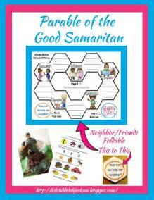bible fun for kids parable of the good samaritan bible