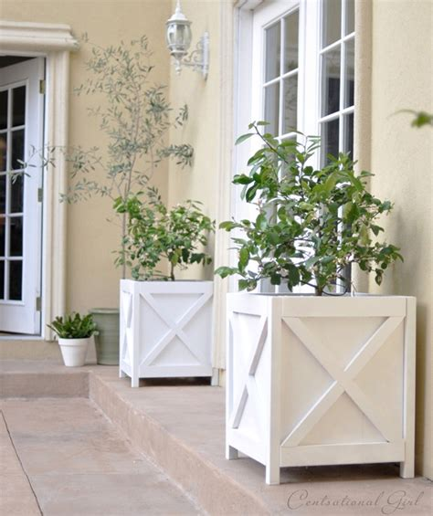 Make Your Own Planter Box by Try This Make Your Own Planter Boxes Four Generations