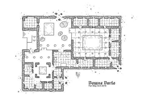 rpg floor plans domus dario kosmic dungeon