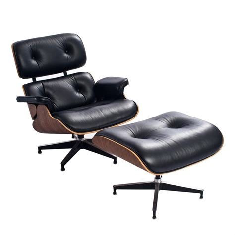Eames Lounge Chair Ottoman Replica by Vitra Eames Lounge Chair Ottoman Replica