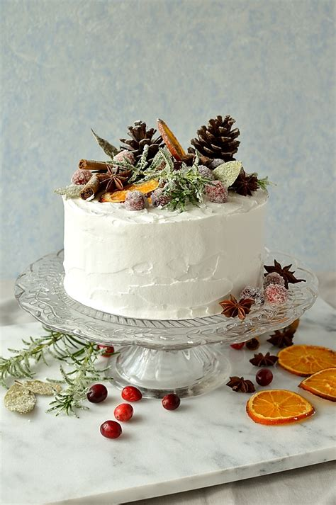 How To Make Rustic Christmas Decorations Gingered Christmas Fruitcake With Rustic Decorations