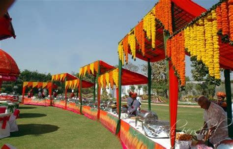 Marigold Decor   Memorable Indian Weddings   Ideas