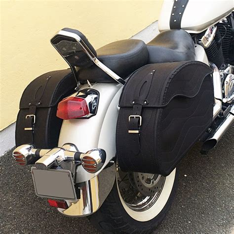 Saddlebags For Harley Davidson by T Motorcycle Black Leather Saddlebags Panniers Harley