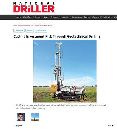 national driller | cutting investment risk through