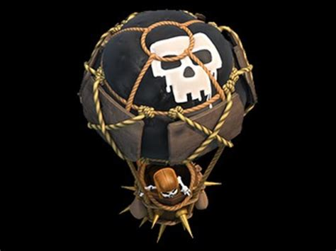 Balon Max Coc clash of clans balloon attack