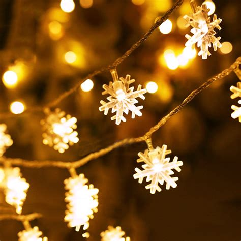 snowflake string lights outdoor best 28 snowflake string lights outdoor led