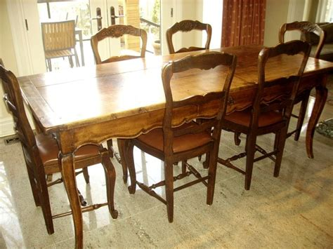 vintage french country dining room table dutchcrafters modern antique chairs french country rustic dining tables