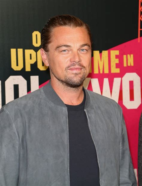 Is Leo Di Caprio Still Secretly Going Out With Model Gf by Leonardo Dicaprio At Cinemacon Pictures April 2018