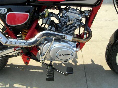 125 Ccm Mini Motorrad by Skyteam Cobra 125 Mini Motorrad 125ccm Skyteam Motorrad