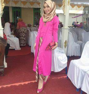 Kebaya Brokat Kutubaru Tunik 48 model baju kebaya muslim modern dan anggun klubwanita