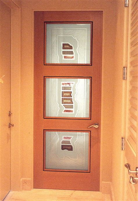 Frosted Glass Panel Interior Door by Interior Glass Doors With Obscure Frosted Glass Triptic