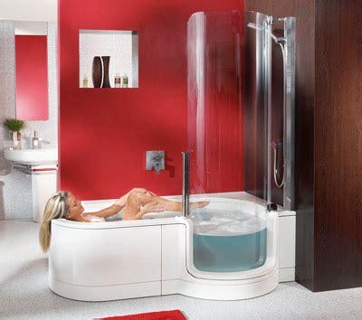 badewannen mit dusche dusche und badewanne behindertengerecht kombiniert