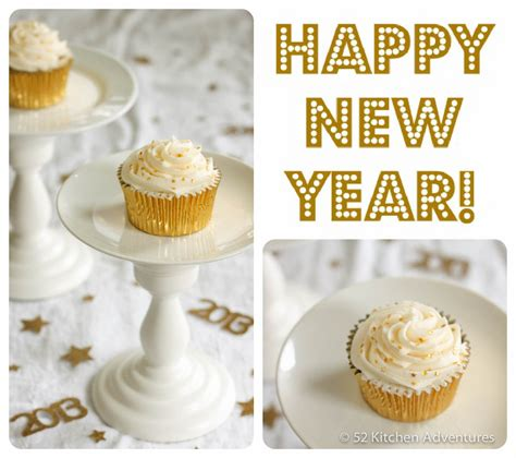 new year cupcake new year s chagne cupcakes 52 kitchen adventures