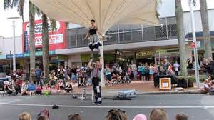 Inky Circus Science Parade Shiny Shiny by Buskers Festival Abc Coffs Coast Australian