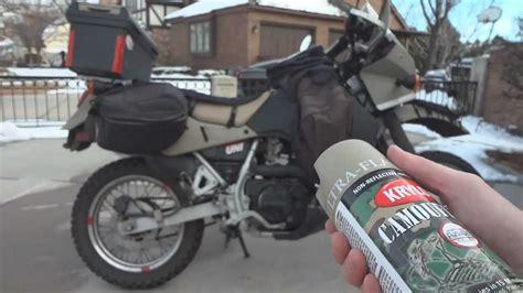 spray painting dirt bike plastics o o how to spray paint a klr 650 with krylon fusion and