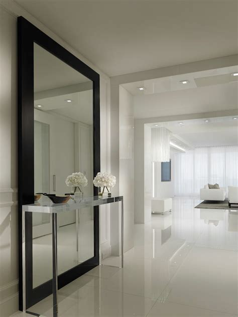 Large Hallway Ideas Hall Contemporary With Full Length Full Length Mirror Living Room