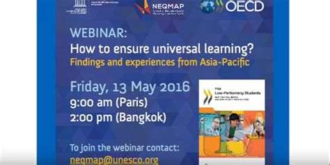 http www aallnet org mm education webinars webinar template docx unesco and oecd webinar on quot how to ensure universal