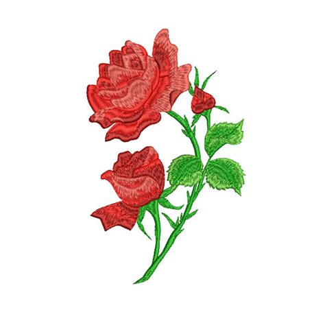 disegno di rosa fiore disegno di ricamo di ricamo di fiori fiore disegno di