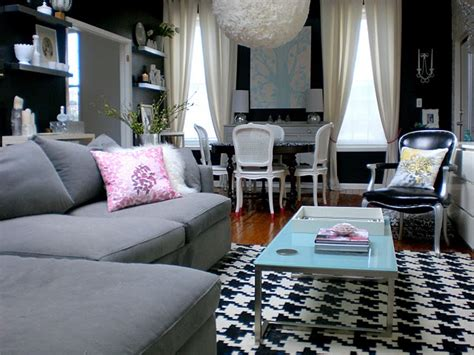 and black living room decorating ideas stylish home black and white interiors