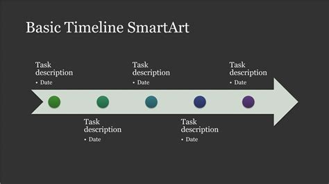 Timelines Office Com Powerpoint Smartart Timeline Template