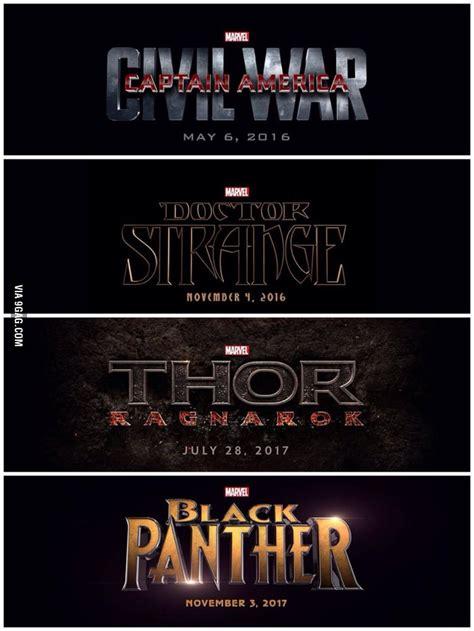 marvel movies order 9gag marvel movies releasing in 2016 2017 9gag