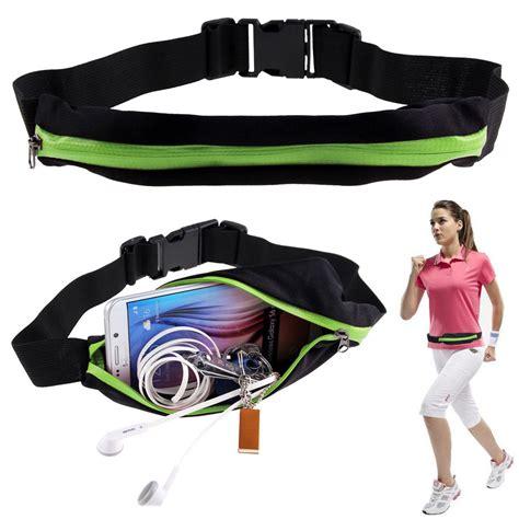 Buy 1 Get 1 Running Waist Bag Tas Pinggang Lari Fitness Olahraga M sport runner zipper pack belly waist bag fitness running bum belt pouch ebay