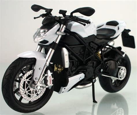 Kacamata Scaple Black Ducati 1 12 scale white black ducati streetfighter motor mt1t005 ezbustoys