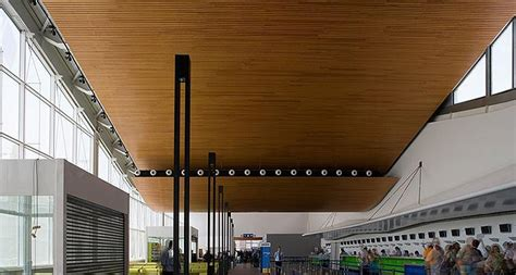 Douglas Ceilings by Douglas Contract Shows Its Mettle In Wood Ceilings