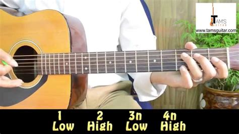 country style guitar country style chords and strumming pattern with walking