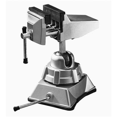 vacuum vise shop bessey 2 3 4 in aluminum steel vacuum base vise at