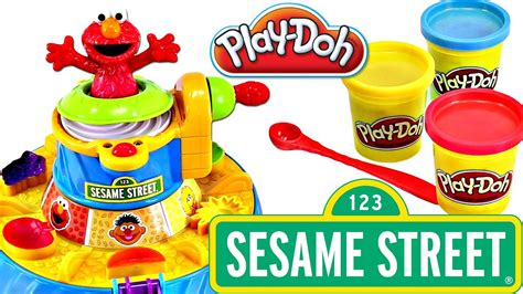 play doh color mixer play doh elmo color mixer learn play colors numbers