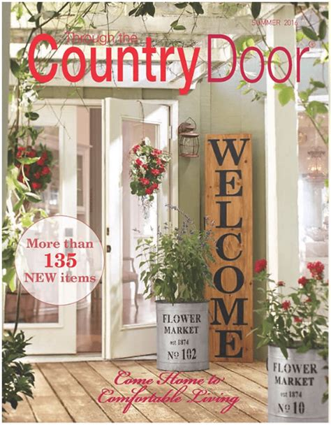 free country home decor catalogs request a free through the country door catalog