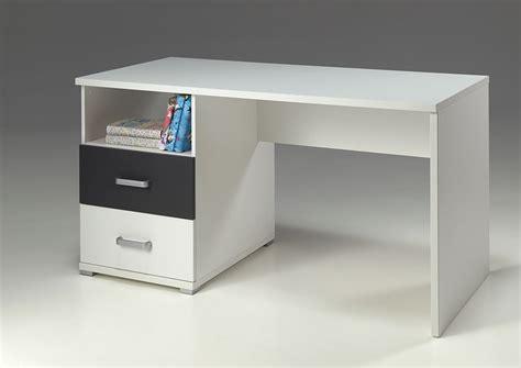 bureau enfant iléo blanc et bureau blanc et gris moderne