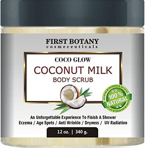 Scrub Milk Coconut 100 coconut milk 12 oz with dead sea