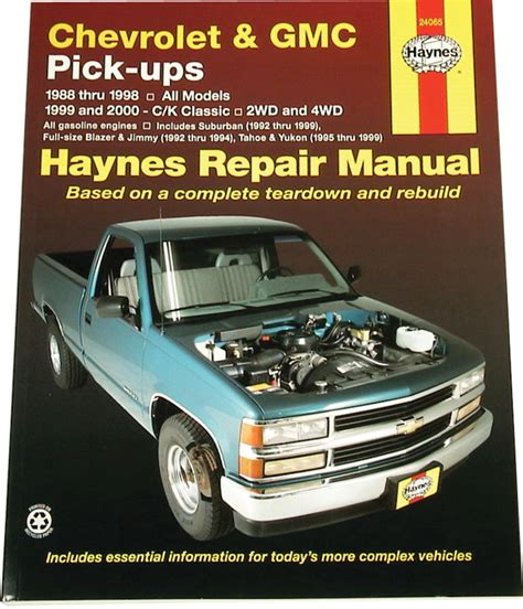 old cars and repair manuals free 1998 gmc 3500 parental controls chevrolet and gmc pick ups repair manual for 1988 thru 1998 html autos weblog