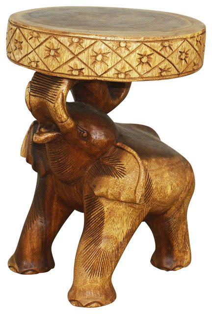 jaipur elephant festival coffee table kammika chang elephant end table walnut finish