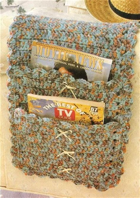 Armchair Caddy Pattern by 1000 Images About Crochet Caddy On
