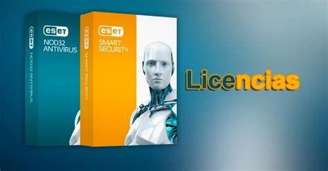 licencias nod32 seriales llaves nod32 7 smart security licencias eset nod32 4 actualizadas licencias