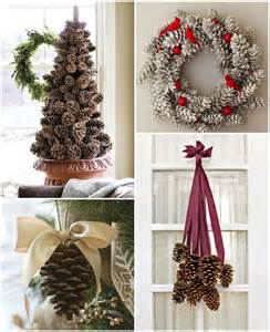 diy christmas d 233 cor ideas using pine cones recycled