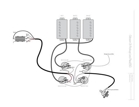 deluxe les paul wiring les paul 50s wiring diagram