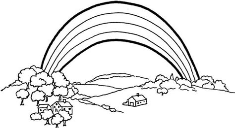 Coloring Pages Rainbow by Free Printable Rainbow Coloring Pages For