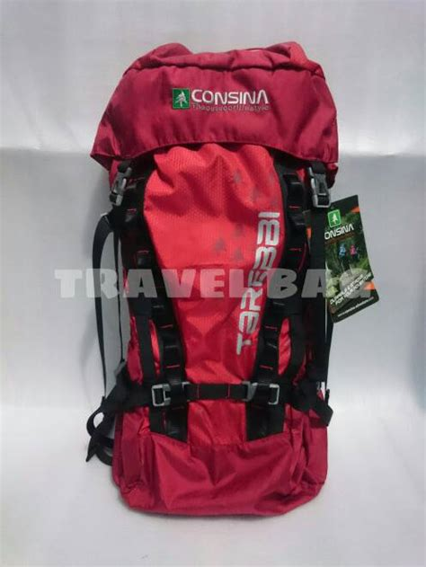 Consina Carrier 60 L Tarebbi Black jual carrier consina tarebbi 60l travel bag