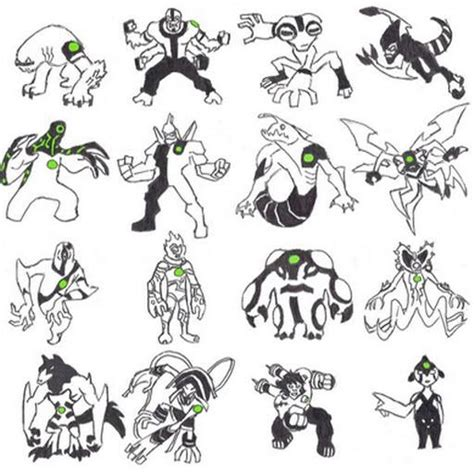 How To Draw Ben 10