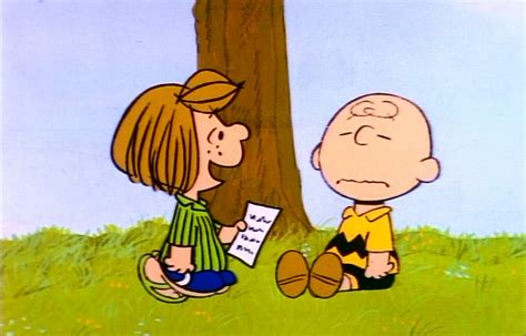 peppermint patty holiday film reviews it s arbor day charlie brown