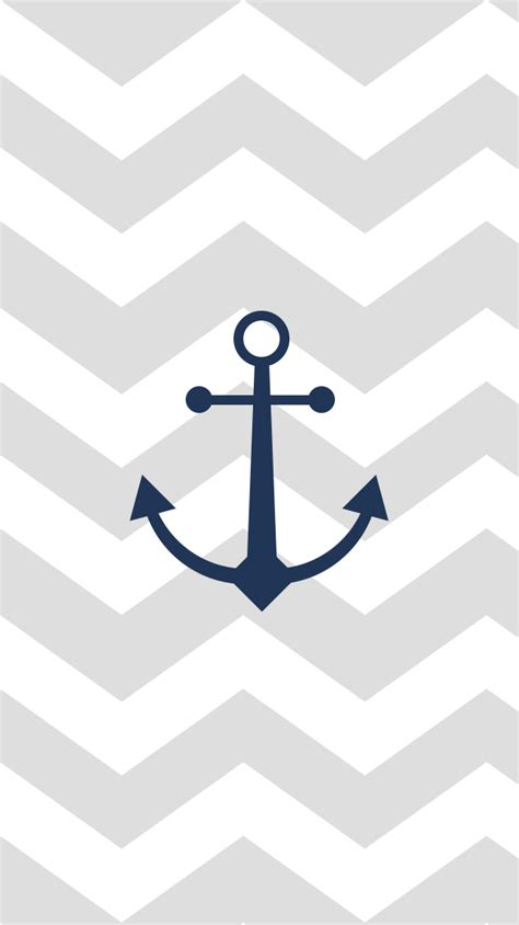 anchor wallpaper pinterest download a chevron patterned anchor wallpaper on