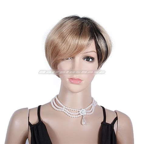Hairstyle Wigs Human Hair by Fabulous Ombre Bob Hairstyle With Layers Human Hair