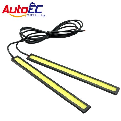 Drl Daytime Running Led 17cm autoec 17cm silver shell daytime running light waterproof