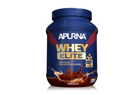 Whey Elite Apurna Boisson Proteinee Whey Elite Isolat Chocolat 750g