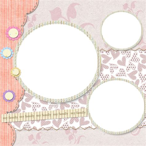 scrapbook template okl mindsprout co
