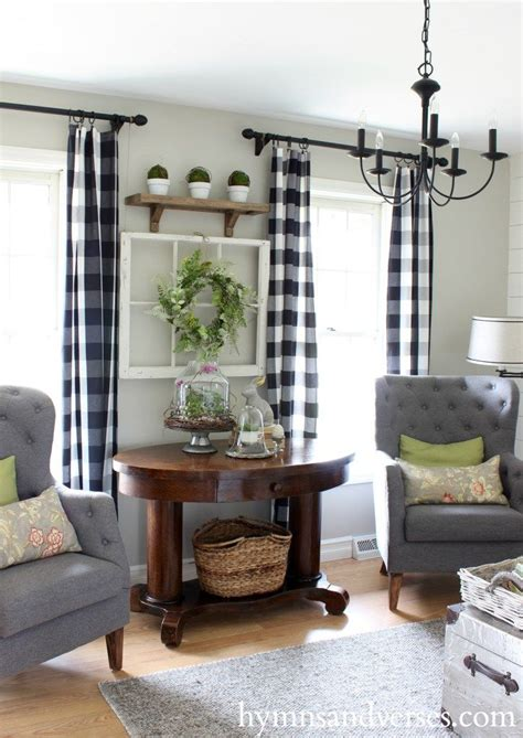 Country Curtains For Living Room Best 25 Plaid Curtains Ideas On Buffalo Check Curtains Buffalo Plaid Curtains And